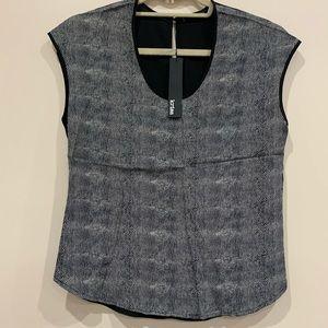Krisa chiffon sleeveless blouse